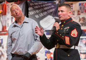 Video: Veterans share stories of overcoming adversity, inspire teens to volunteer