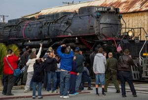 Union Pacific's 'Big Boy' locomotive takes the road back to life