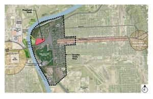 Playland Park plan aims to foster growth on each side of the Missouri