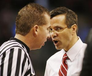Husker men lose by 31 to third-ranked Buckeyes