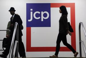 Hide-and-seek sales clerks out at J.C. Penney