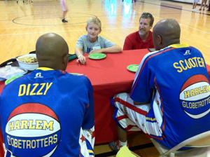 Harlem Globetrotters honor Omaha tuna casserole chef Bence Brown, 9