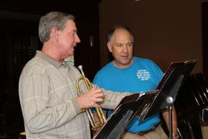 Brass band enlivens Lord of Love Lutheran
