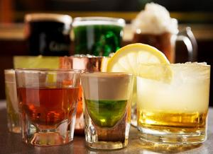 Toast St. Patrick's Day with an Irish Cactus, Whiskey Clover or Pickleback