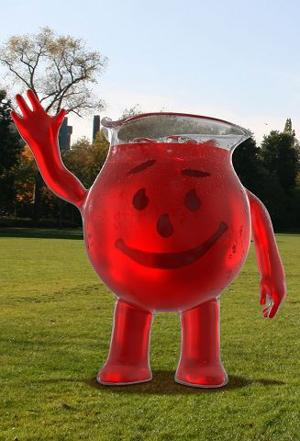 Kool-Aid Man not just a smiley face anymore
