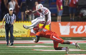 Husker QB Tommy Armstrong is a runner on the rise