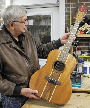 Iowa man finds harmony in hardwood