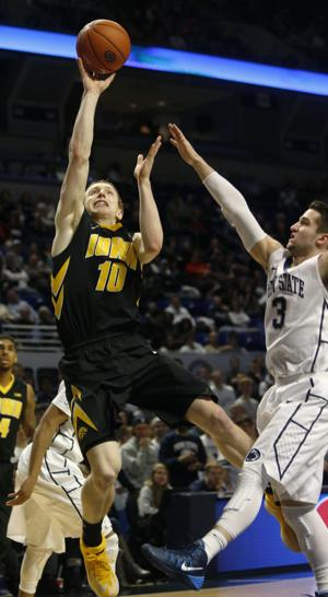Basabe leads No. 16 Iowa past Penn State