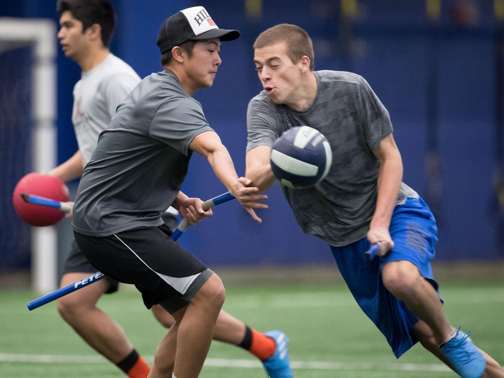 From Hogwarts to Creighton: This is muggles quidditch, a real sport ...