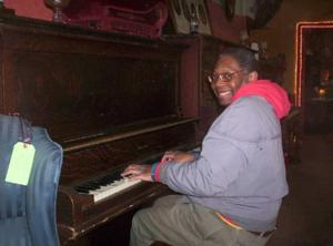 Old piano in church basement led to a lifelong love of ragtime