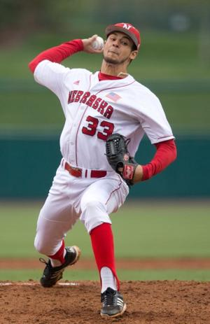 Huskers to face Michigan without ace pitcher Christian DeLeon