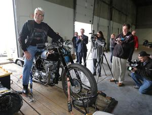 Omahan and his motorcycle reunited 46 years after theft