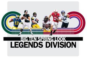 Spring Look: Big Ten Legends Division