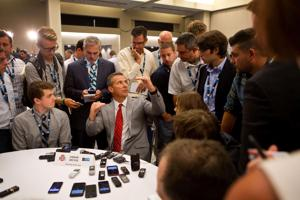 Chatelain: Urban Meyer completely in control at Big Ten media days