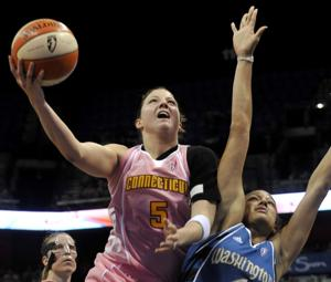 Former Huskers Moore, Griffin on WNBA rosters