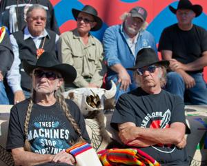 Willie Nelson, Neil Young lend their talents to Keystone XL fight