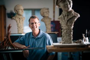 Artist Mark Avery is sculpting 'everyday heroes' for Sioux City park