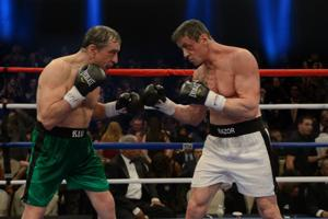 Review: 'Grudge Match' slick and sentimental but recycled