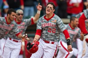 Huskers finish sweep of Ohio State with another walk-off win
