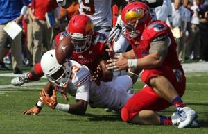 Major college football schedule, results, Sept. 28