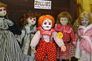 The Benson zombie dolls would like to haunt your dreams now