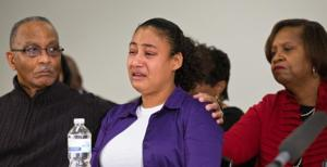More than 100 turn out for prayer vigil for 5-year-old shooting victim