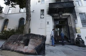 FBI: SF Chinese Consulate fire set intentionally