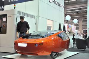 3-D printers bring eco-car to life