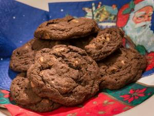 12 Days Of Cookies, day 1: Steffany's Chocolate Peanut Butter Awesomeness