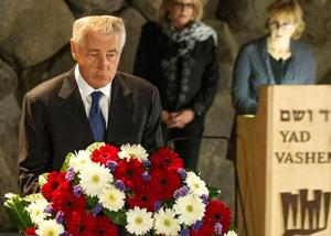 Security talk during Hagel trip to Israel takes a Nebraska turn