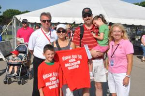 Fair welcomes its millionth visitor since move