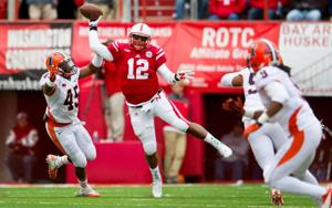 Notes: Husker QBs Kellogg, Armstrong aim to 'light fire' among teammates