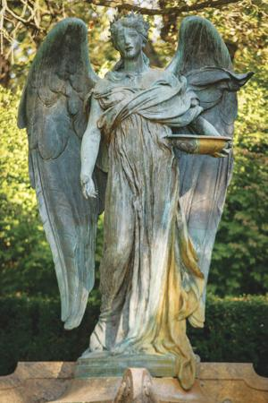 Council Bluffs' Black Angel made whole again at ceremony