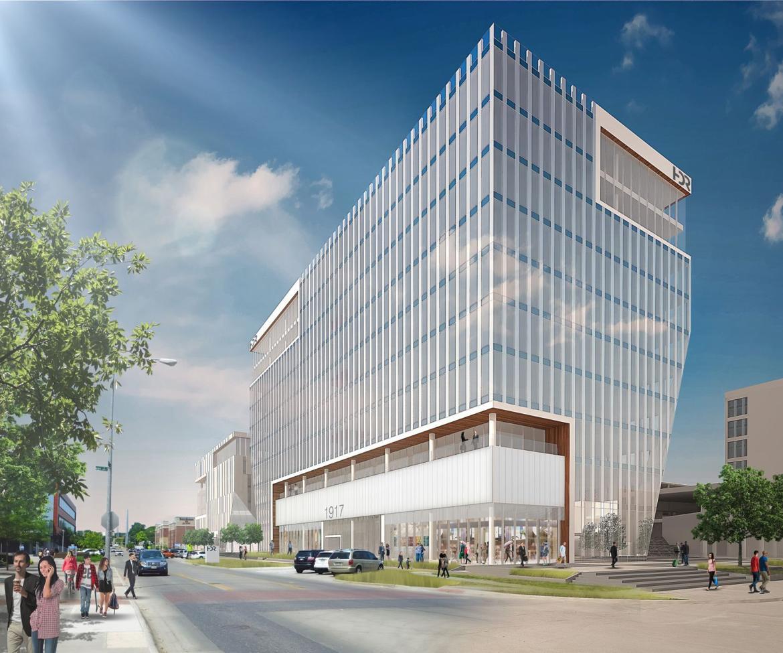 Omaha hdr headquarters 160 feet 10 floors for Architecture firms omaha ne