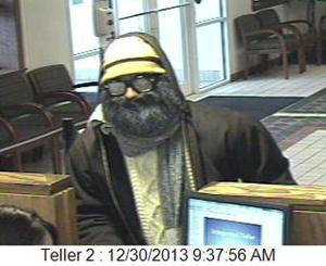 Council Bluffs bank robbed by man wearing 'obvious disguise'