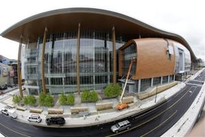 New Nashville convention center to open in May