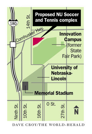 NU regents to consider new $20.4 million complex for Husker tennis, soccer