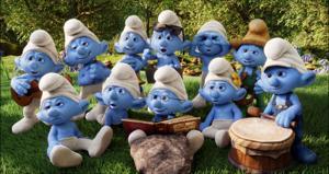 Movie review: In 'Smurfs 2,' Les Smurfs take Paris