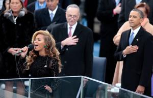 Band: Beyonce lip-synced national anthem during presidential inauguration