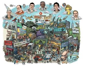Everything that happened in 2013 in one 'Where's Waldo?'-esque image