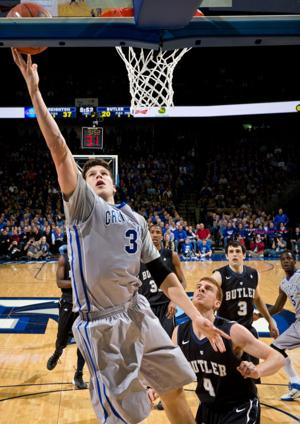 McDermott guides Jays past Butler, continues climb up charts