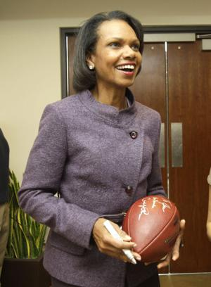 Shatel: Condoleezza Rice's selection to playoff committee is politically correct