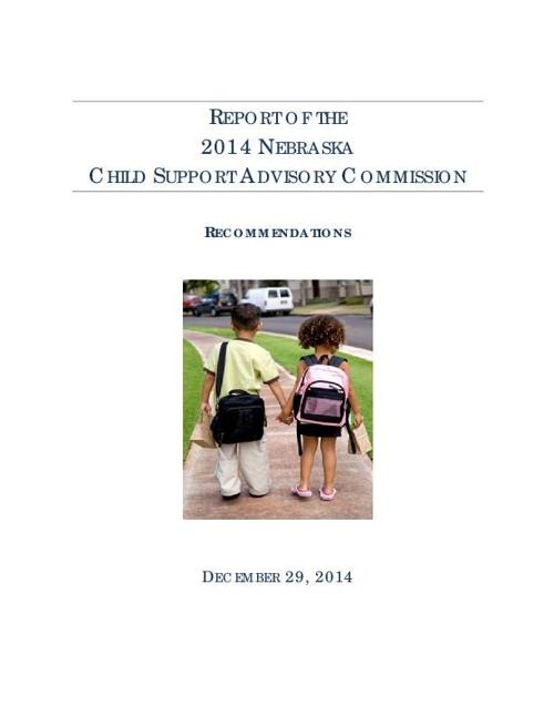 What is an argument surrounding the policy issue of child support?