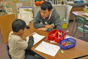 RHS students enjoy service opportunities with youngsters
