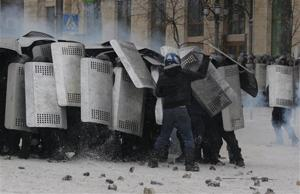 Timeline of key events in Ukraine protests