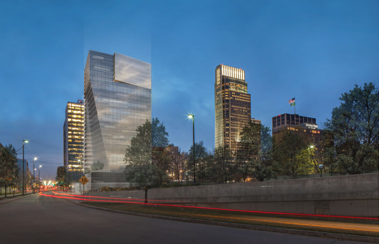 Developer's plans for downtown Omaha high-rise excite officials | Money | omaha.com