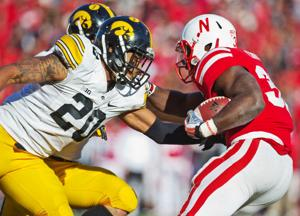 Turnovers once again repeatedly put Huskers in difficult positions