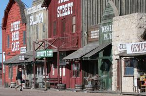 Sale sign goes up after no one bids for Ogallala's Front Street attraction