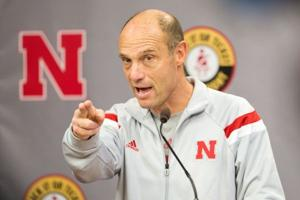 Shatel: Huskers' dual-practice plan shows Riley is still flexible at 61