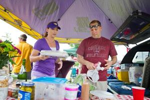 Gourmet grub makes her the CWS tailgate hostess with the mostest